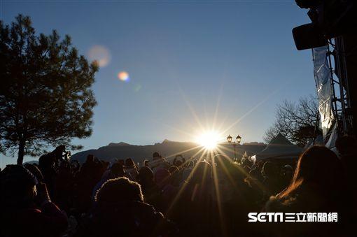 跨年,迎曙光,新年,日出。(圖/交通部觀光局提供)