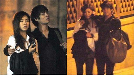 ▲鐘鉉(左)和申世京(右)被韓媒偷拍,進而爆出交往。(合成圖/翻攝自Sportsseoul.com)