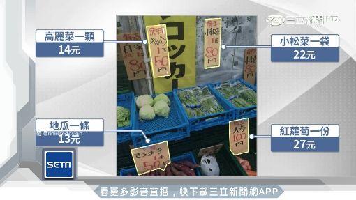 誰說日本啥都貴! 特價蔬果台幣30有找