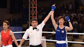 ▲林郁婷(右)今年拿下亞錦賽金牌。(圖/翻攝自林郁婷臉書)