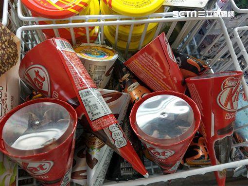 KitKat,巧克力,甜筒,冰,KitKat巧克力,全家便利商店