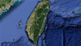 (萬用圖)台灣地圖.地震_翻攝自Google地圖