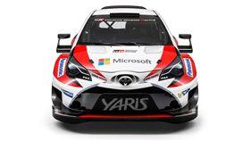 以歐規Yaris為基礎的Toyota Yaris WRC賽車。(圖/翻攝WRC官網)