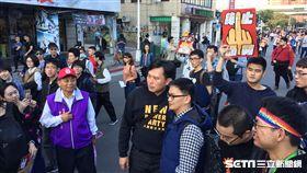 黃國昌參加反勞基法修惡大遊行 張之謙攝