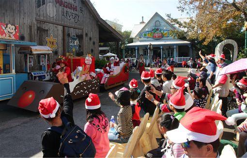 六福村耶誕節關懷弱勢兒童