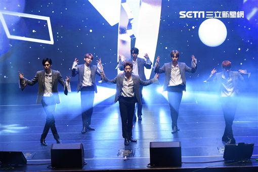 韓國男子團體JBJ首度在台舉辦見面會與台灣紛絲相見