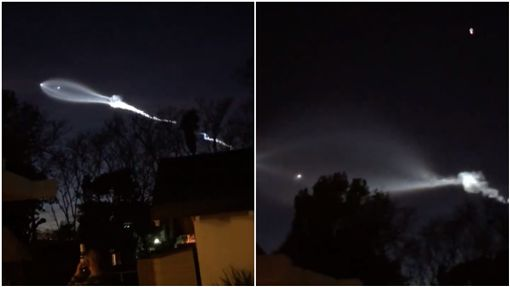 美國,加州,火箭,外星人,太空船,UFO,飛碟/Chemtrails Global Skywatch臉書