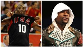 Kobe Bryant,布萊恩,退休,球衣,梅威瑟,拳王,籃球,Floyd Mayweather,下戰帖,單挑(圖/翻攝自布萊恩、梅威瑟IG)