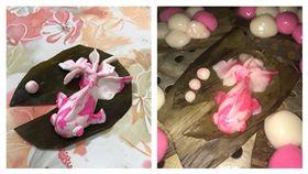 每年冬至吃湯圓太無趣 美術系畢業的姊姊竟搓出一隻角金魚 圖/翻攝自Dcard https://goo.gl/FHEZbn