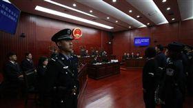 北京法院審理肯亞電信詐騙案。(圖/翻攝北京法院網微博)