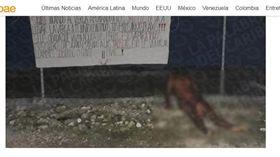 墨西哥,恐怖謀殺案,男子遭斬首棄屍(圖/翻攝自infobae)