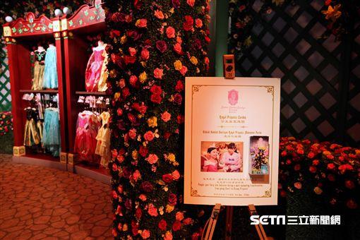 香港迪士尼「公主皇室庭園」。(圖/記者簡佑庭攝)