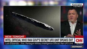 ▲路易斯(Luis Elizondo),在CNN的專訪中坦承有外星人。(圖/翻攝自Youtube)