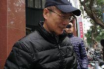 蔡正元離開北檢