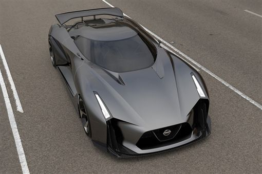 Nissan 2020 Vision Gran Turismo。(圖/翻攝Nissan官網)