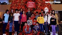 台北晶華與Just Sleep捷絲旅攜手舉辦跨國聖誕公益活動。(圖/捷絲旅提供)