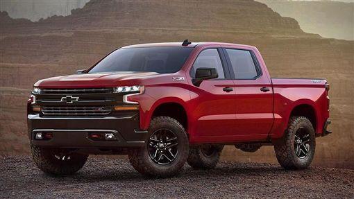2019 Chevrolet Silverado。(圖/翻攝Chevrolet官網)