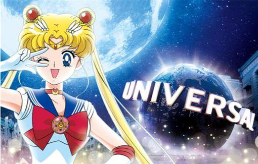日本環球影城,Universal Cool Japan,美少女戰士。(圖/日本環球影城提供)