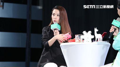 田馥甄出席手機品牌耶誕節活動