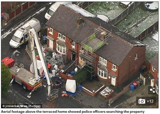 英國蓄意縱火案造成4名無辜孩童死亡,3名縱火嫌犯在獄中被霸凌。(圖/翻攝Daily Mail)