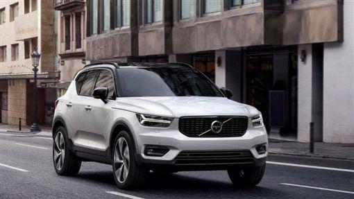 Volvo特別搶先運抵最新的XC40展出。(圖/翻攝Volvo官網)