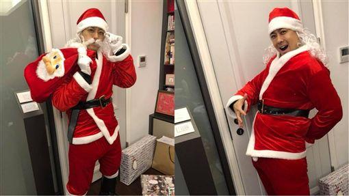 林志穎,聖誕節/翻攝自臉書
