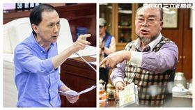 李新、北體總會長呂威震,記者林敬旻攝影