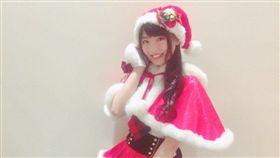 AKB48,馬嘉伶,抹茶,聖誕節,聖誕裝,服裝 (圖/翻攝自馬嘉伶推特)