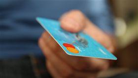 信用卡,刷卡 圖/Pixabay