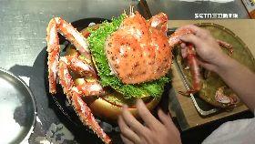 帝王蟹蓋飯1800