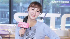 熊熊 -卓毓彤她接受三立新聞網的驚喜直播,暢談她幾年在娛樂圈的心得。(圖/記者邱榮吉攝影)