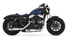 Forty-Eight 115周年紀念版。(圖/翻攝Harley-Davidson官網)