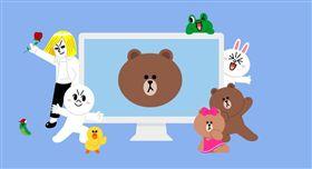 免費,通訊軟體,LINE,螢幕保護程式,下載,熊大,兔兔