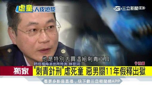 「刺青針刑」虐死童 惡男關11年假釋出獄 ID-1192542