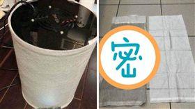 空汙,空氣,清淨機,靜電棉,濾淨,髒,汙染 (圖/翻攝自爆怨公社)