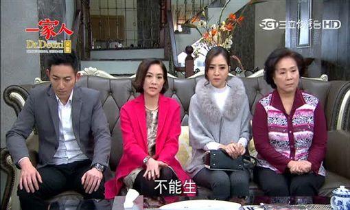 一家人,楊烈,柯素雲,陳宇風,丁力祺(圖/翻攝自三立台灣台)