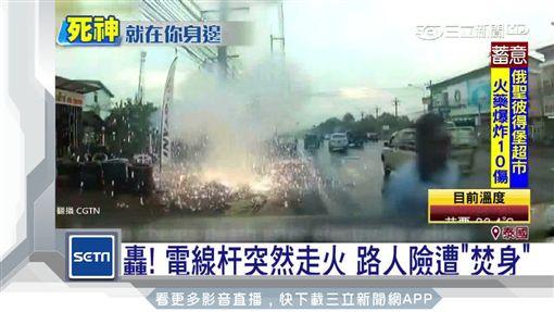 泰國,紅綠燈,意外,火車