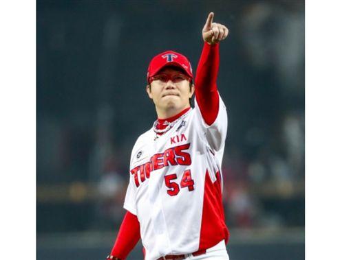 ▲韓國職棒KIA虎強力左投梁玹種年薪6904萬元改寫投手紀錄。(資料照/截自韓國媒體)