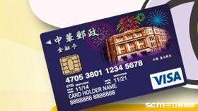 VISA金融卡。