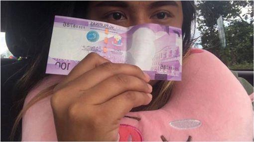 鈔票,紙鈔,菲律賓,總統,菲律賓中央銀行,漏印 圖/翻攝自臉書
