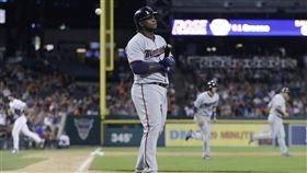 ▲明尼蘇達雙城三壘手Miguel Sano被指控性侵。(資料照/美聯社/達志影像)