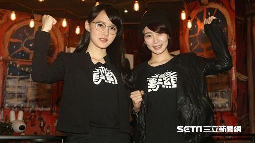 Doris、李亦捷擔任一日店長為電影《衝組》宣傳