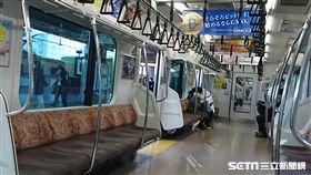 日本地鐵,日本鐵路,日本捷運,日本車廂(記者翁堃泰/攝影)