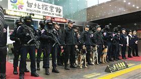 台北,跨年夜,維安,告白氣球,空拍機攔截器