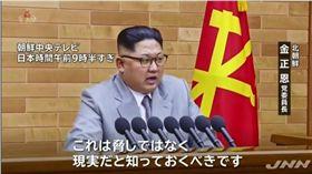 朝鮮領導人金正恩(圖/翻攝自YouTube)