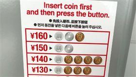 日貼心「硬幣對照表」 被酸:把外國人當白痴 推特
