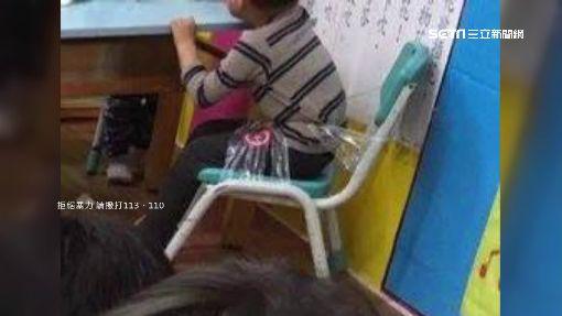 三歲兒曾遭師膠帶綁椅 莽父怒控虐待