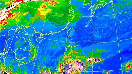 20180102衛星雲圖/中央氣象局