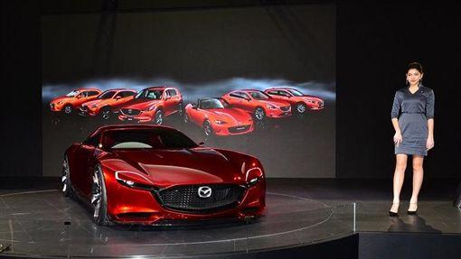 Mazda RX-VISION。(圖/鍾釗榛攝影)