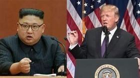 ▲美國總統川普開嗆北韓領導人金正恩。(圖/資料照)